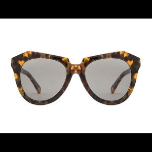 Karen Walker Number One Brown Sunglasses